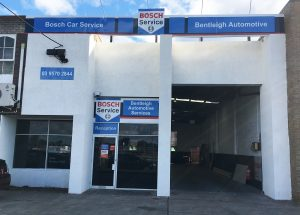 Bentleigh Automotive Shop Front