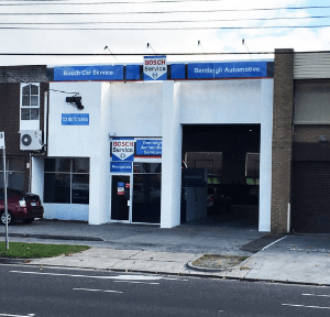 bentleigh automotive services shop front